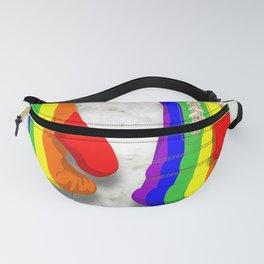 Rainbow gloves Fanny Pack