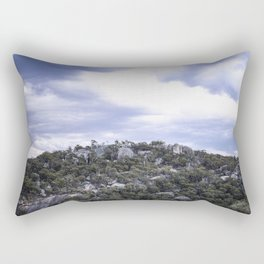 Storm Threatened Mountain Rectangular Pillow