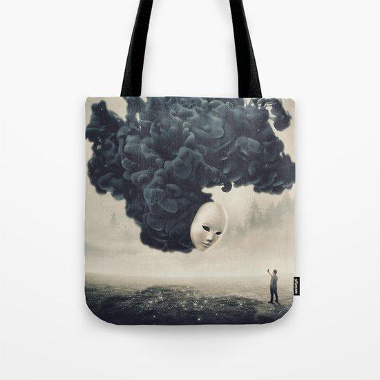 The Selfie Dark Surrealism Tote Bag