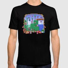 Mario Super Bros, Too T-shirt