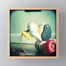 Snoopy dog Framed Mini Art Print