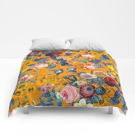 Summer Botanical Garden IX Comforters