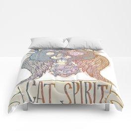 Cat Spirit Comforters
