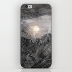 Lines in the mountains VIII iPhone & iPod Skin