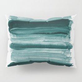 Abstract Minimalism Brushstrokes #1 #minimal #ink #decor #art #society6 Pillow Sham