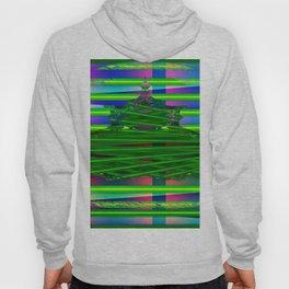 Fraktal and stripes Hoody