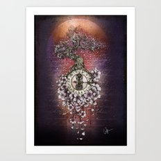 Time Perfusion Art Print