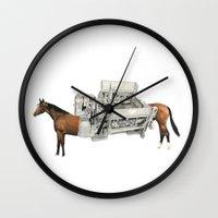 Horse Power Wall Clock