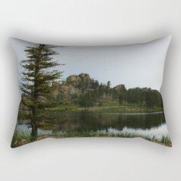 Moody Evening  At Sylvan Lake Rectangular Pillow