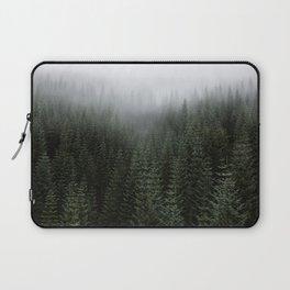 Dizzying Misty Forest Laptop Sleeve