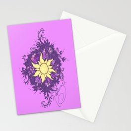 Tangled: Rapunzel's Kingdom Dance Chalk Drawing Stationery Cards