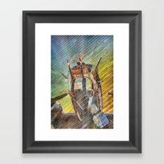 Armed Defender Framed Art Print