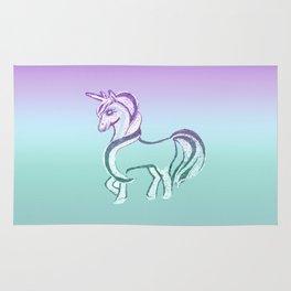 Unicorn #2 #drawing #decor #art #society6 Rug