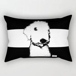 Bedlington Terrier Rectangular Pillow