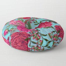 Vintage & Shabby Chic - Summer Tropical Garden I Floor Pillow