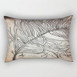 Palm Flower on Earth Day Rectangular Pillow