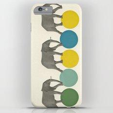 Travelling Elephants Slim Case iPhone 6s Plus
