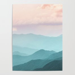 Smoky Mountain National Park Sunset Layers II - Nature Photography Poster