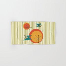 Retro Stripes & Shapes Hand & Bath Towel