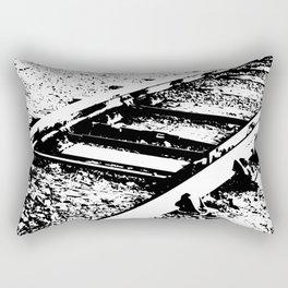 Railway Lines Rectangular Pillow
