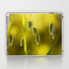 Quaking grass Laptop & iPad Skin