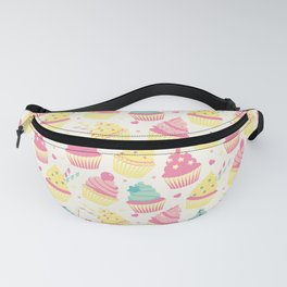 Sweet Cupcakes 3 Fanny Pack