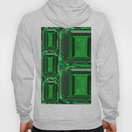 SPRING GREEN EMERALDS ART DECORATIVE  DESIGN Hoody