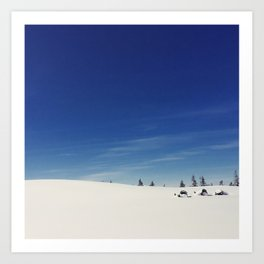 Perfect conditions Art Print
