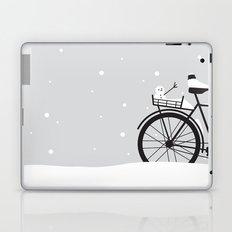 Bicycle & snow Laptop & iPad Skin
