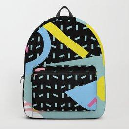 Memphis Pattern 6 - 80s - 90s - Retro Backpack