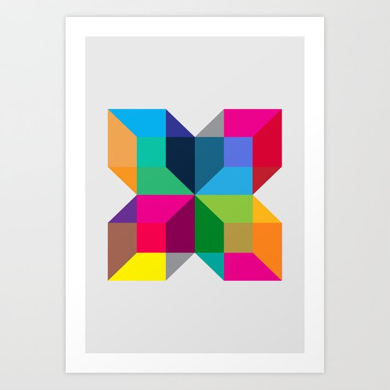 The Intersection Art Print