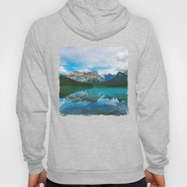 The Mountains and Blue Water - Nature Photography Hoody