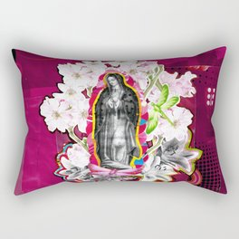 Nossa Senhora de Guadalupe (Our Lady of Guadalupe)  Rectangular Pillow