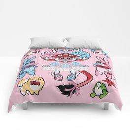 Eye Am Kawaii Krampus Comforters