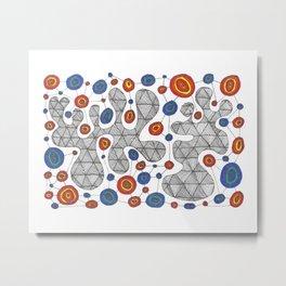 Geode Metrics Metal Print