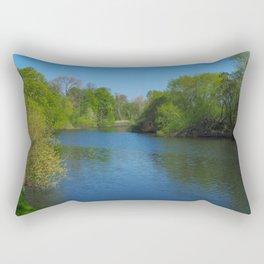 River Ouse near York Rectangular Pillow