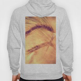 Summer romance in the grain field Hoody