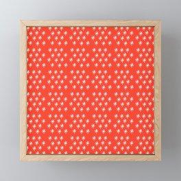 stars 21- coral Framed Mini Art Print