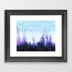 Purple Mist Framed Art Print