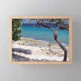 Flip Flops Framed Mini Art Print