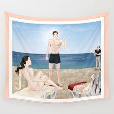 bikini blunder Wall Tapestry