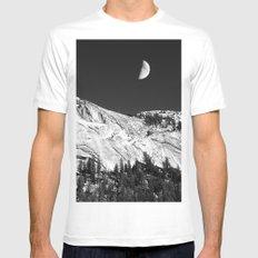 Yosemite MEDIUM White Mens Fitted Tee
