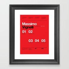 Massimo Forever 01 Framed Art Print