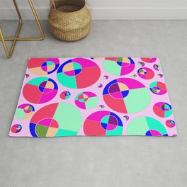 Bubble pink Rug