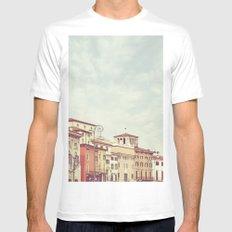 Verona Mens Fitted Tee White MEDIUM