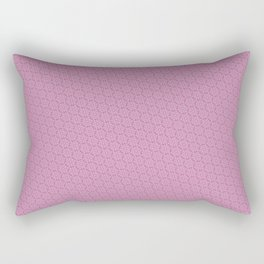 Cool patterns ~ THX 1138 Pink Rectangular Pillow