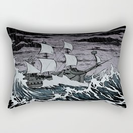 Galleon Rectangular Pillow