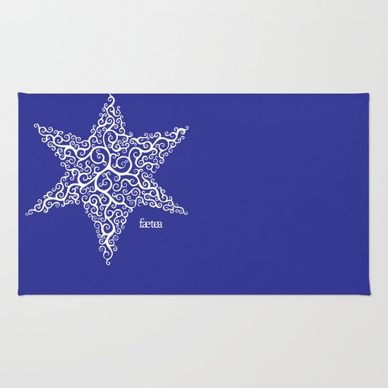 David's Star Rug