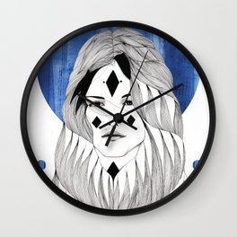 Winter Hymn Wall Clock