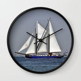 SAILORS WORLD - Baltic Sea Wall Clock
